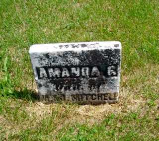 MITCHELL, AMANDA F. - Union County, Ohio | AMANDA F. MITCHELL - Ohio Gravestone Photos