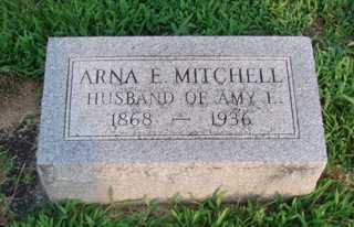 MITCHELL, ARNA E. 'ARNIE' - Union County, Ohio   ARNA E. 'ARNIE' MITCHELL - Ohio Gravestone Photos