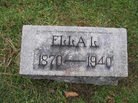 MITCHELL, ELLA L. PREDMORE - Union County, Ohio | ELLA L. PREDMORE MITCHELL - Ohio Gravestone Photos