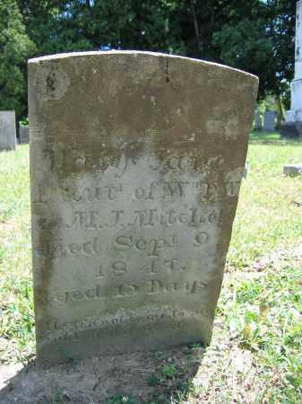 MITCHELL, MARY JANE - Union County, Ohio | MARY JANE MITCHELL - Ohio Gravestone Photos