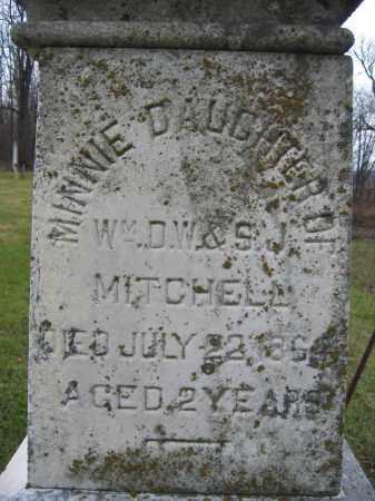 MITCHELL, MINNIE - Union County, Ohio | MINNIE MITCHELL - Ohio Gravestone Photos