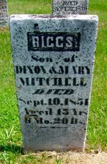 MITCHELL, RIGGS - Union County, Ohio | RIGGS MITCHELL - Ohio Gravestone Photos