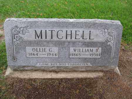 MITCHELL, WILLIAM B. - Union County, Ohio | WILLIAM B. MITCHELL - Ohio Gravestone Photos