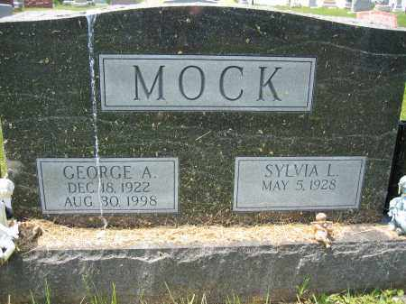 MOCK, GEORGE A. - Union County, Ohio | GEORGE A. MOCK - Ohio Gravestone Photos