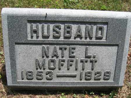 MOFFITT, NATE L. - Union County, Ohio   NATE L. MOFFITT - Ohio Gravestone Photos