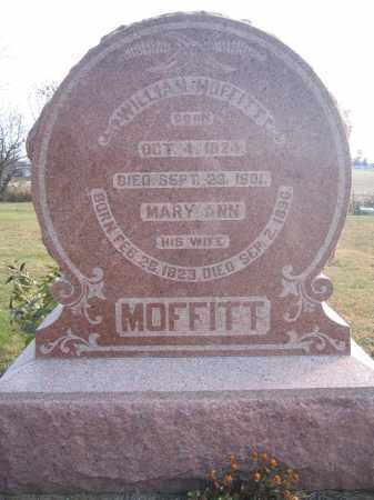 MOFFITT, WILLIAM - Union County, Ohio | WILLIAM MOFFITT - Ohio Gravestone Photos