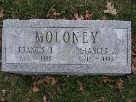MOLONEY, FRANCES J. - Union County, Ohio | FRANCES J. MOLONEY - Ohio Gravestone Photos