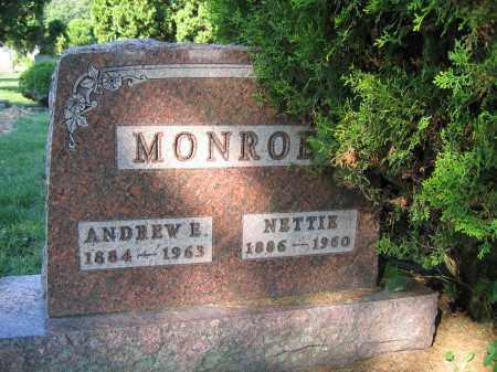 MONROE, ANDREW E. - Union County, Ohio   ANDREW E. MONROE - Ohio Gravestone Photos