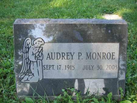 MONROE, AUDREY P. - Union County, Ohio   AUDREY P. MONROE - Ohio Gravestone Photos
