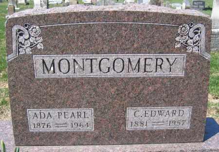MONTGOMERY, ADA PEARL - Union County, Ohio | ADA PEARL MONTGOMERY - Ohio Gravestone Photos