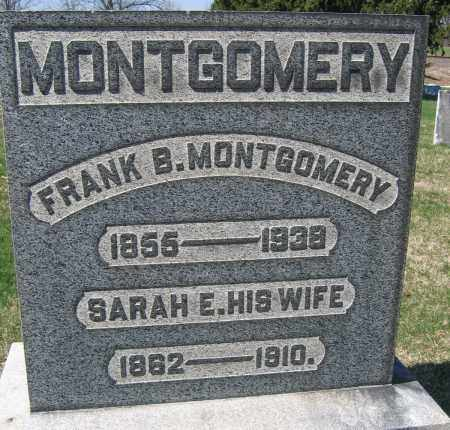 MONTGOMERY, FRANK B. - Union County, Ohio   FRANK B. MONTGOMERY - Ohio Gravestone Photos