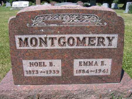 MONTGOMERY, EMMA E. - Union County, Ohio | EMMA E. MONTGOMERY - Ohio Gravestone Photos