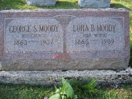 MOODY, GEORGE S. - Union County, Ohio | GEORGE S. MOODY - Ohio Gravestone Photos