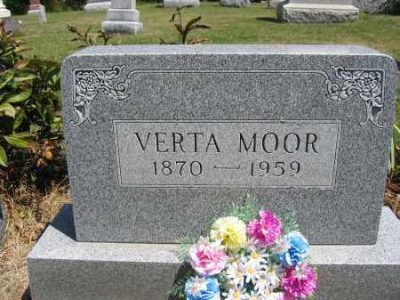 MOOR, VERTA - Union County, Ohio   VERTA MOOR - Ohio Gravestone Photos