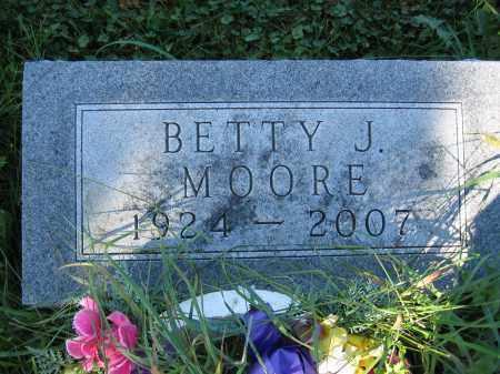 MOORE, BETTY J. - Union County, Ohio   BETTY J. MOORE - Ohio Gravestone Photos