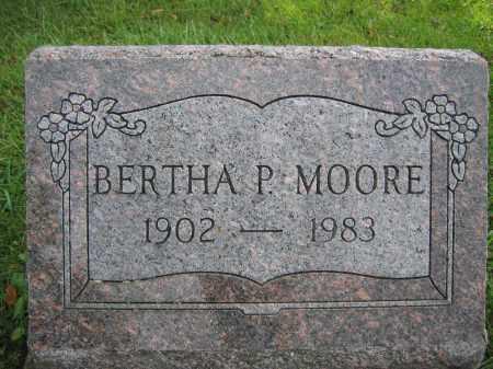MOORE, BERTHA P. - Union County, Ohio | BERTHA P. MOORE - Ohio Gravestone Photos