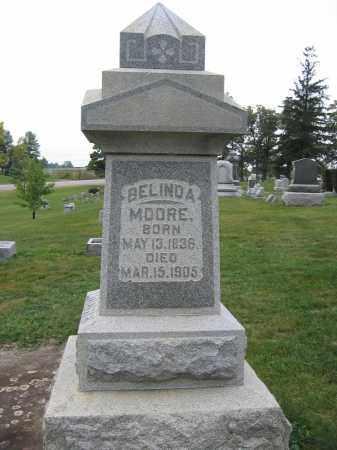 MOORE, BELINDA - Union County, Ohio | BELINDA MOORE - Ohio Gravestone Photos