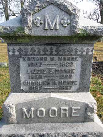 MOORE, LIZZA E. LOWE - Union County, Ohio | LIZZA E. LOWE MOORE - Ohio Gravestone Photos