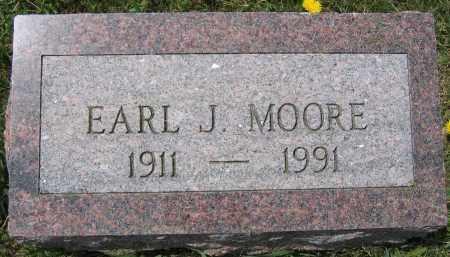 MOORE, EARL J. - Union County, Ohio | EARL J. MOORE - Ohio Gravestone Photos