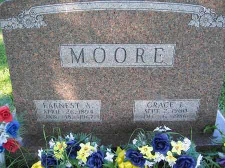 MOORE, GRACE L. - Union County, Ohio | GRACE L. MOORE - Ohio Gravestone Photos