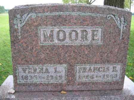 MOORE, VERNA L. - Union County, Ohio   VERNA L. MOORE - Ohio Gravestone Photos