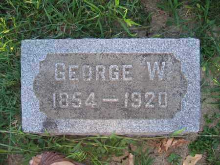 MOORE, GEORGE W. - Union County, Ohio | GEORGE W. MOORE - Ohio Gravestone Photos