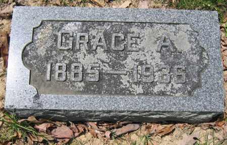 MOORE, GRACE A. - Union County, Ohio | GRACE A. MOORE - Ohio Gravestone Photos