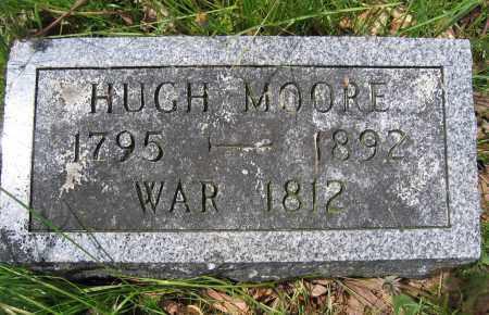 MOORE, HUGH - Union County, Ohio | HUGH MOORE - Ohio Gravestone Photos