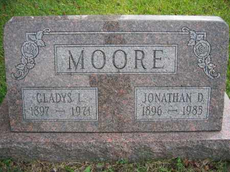 MOORE, JONATHAN D. - Union County, Ohio | JONATHAN D. MOORE - Ohio Gravestone Photos