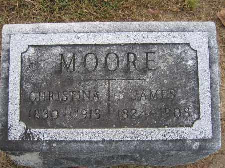 MOORE, CHRISTINA - Union County, Ohio | CHRISTINA MOORE - Ohio Gravestone Photos