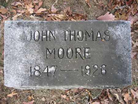 MOORE, JOHN THOMAS - Union County, Ohio | JOHN THOMAS MOORE - Ohio Gravestone Photos