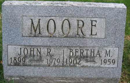 MOORE, JOHN R. - Union County, Ohio | JOHN R. MOORE - Ohio Gravestone Photos