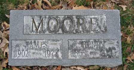 MOORE, HENRY - Union County, Ohio   HENRY MOORE - Ohio Gravestone Photos