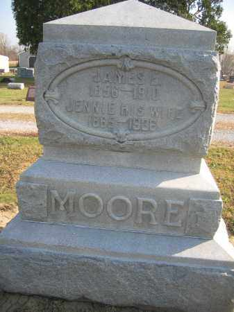 MOORE, JENNIE - Union County, Ohio   JENNIE MOORE - Ohio Gravestone Photos