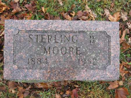 MOORE, STERLING B. - Union County, Ohio   STERLING B. MOORE - Ohio Gravestone Photos