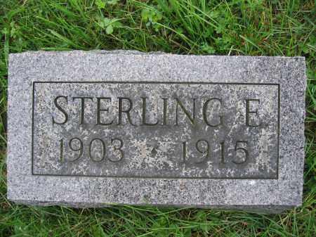MOORE, STERLING E. - Union County, Ohio   STERLING E. MOORE - Ohio Gravestone Photos