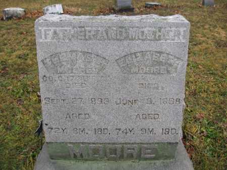MOORE, ELIZABETH - Union County, Ohio | ELIZABETH MOORE - Ohio Gravestone Photos