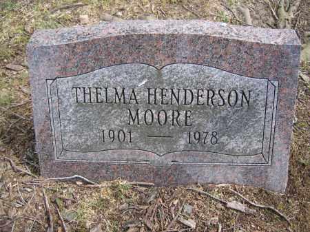 MOORE, THELMA HENDERSON - Union County, Ohio | THELMA HENDERSON MOORE - Ohio Gravestone Photos