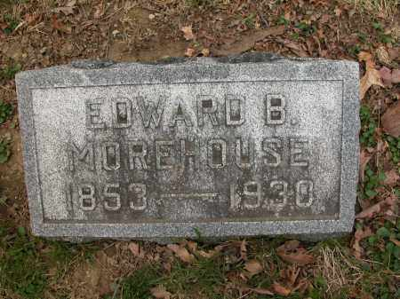 MOREHOUSE, EDWARD B. - Union County, Ohio   EDWARD B. MOREHOUSE - Ohio Gravestone Photos