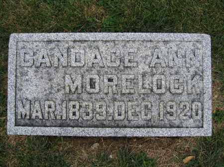 MORELOCK, CANDACE ANN - Union County, Ohio | CANDACE ANN MORELOCK - Ohio Gravestone Photos