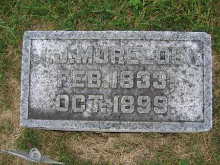 MORELOCK, J.J. - Union County, Ohio | J.J. MORELOCK - Ohio Gravestone Photos