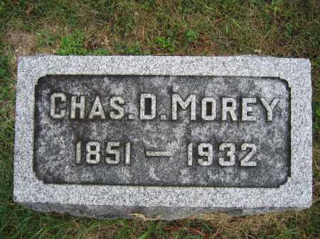 MOREY, CHAS. D. - Union County, Ohio | CHAS. D. MOREY - Ohio Gravestone Photos