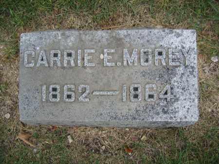 MOREY, CARRIE E. - Union County, Ohio | CARRIE E. MOREY - Ohio Gravestone Photos