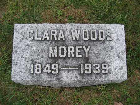 MOREY, CLARA WOODS - Union County, Ohio | CLARA WOODS MOREY - Ohio Gravestone Photos