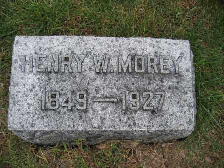MOREY, HENRY W. - Union County, Ohio   HENRY W. MOREY - Ohio Gravestone Photos
