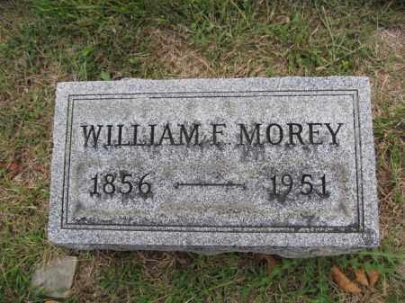 MOREY, WILLIAM F. - Union County, Ohio   WILLIAM F. MOREY - Ohio Gravestone Photos