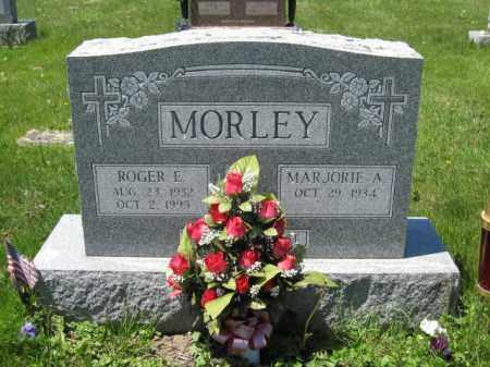 MORLEY, ROGER E. - Union County, Ohio | ROGER E. MORLEY - Ohio Gravestone Photos