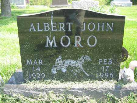 MORO, ALBERT JOHN - Union County, Ohio | ALBERT JOHN MORO - Ohio Gravestone Photos