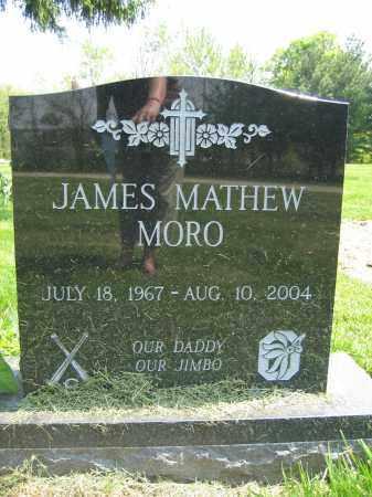MORO, JAMES MATHEW - Union County, Ohio   JAMES MATHEW MORO - Ohio Gravestone Photos