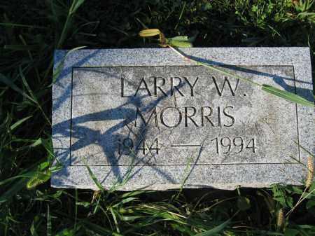 MORRIS, LARRY W. - Union County, Ohio | LARRY W. MORRIS - Ohio Gravestone Photos